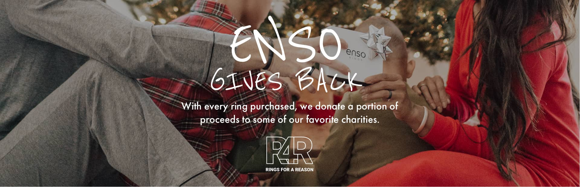 Inked Rings | Holiday Collection | Enso Rings Gives Gack - Rings for a Reason