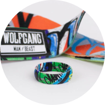 Inked Rings | Wolfgang | Street Art Design