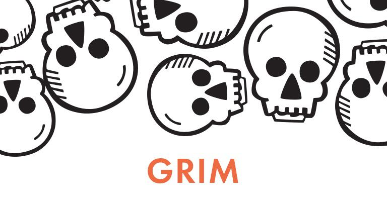 Inked Flexible Rings Halloween Collection | Grim