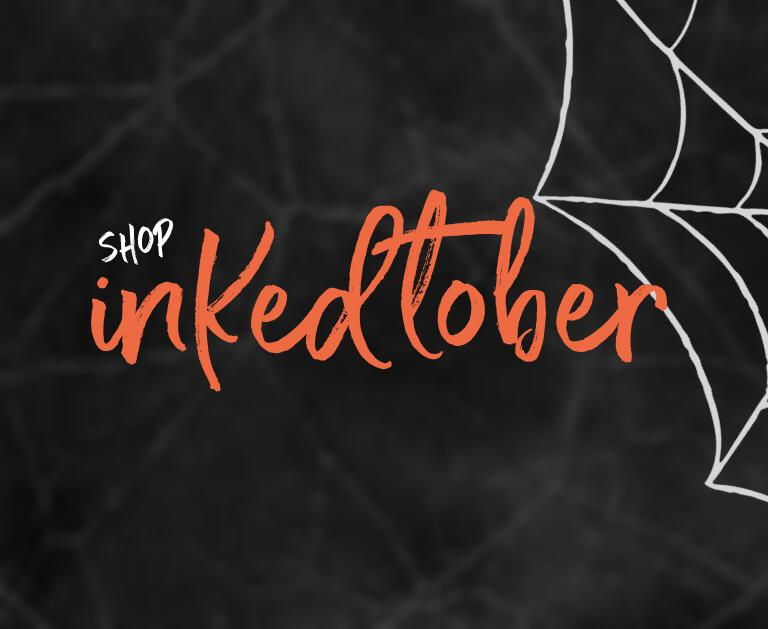 Inked Flexible Rings Halloween Collection | Ghosts, Ghouls, Grim, & Jack-O styles