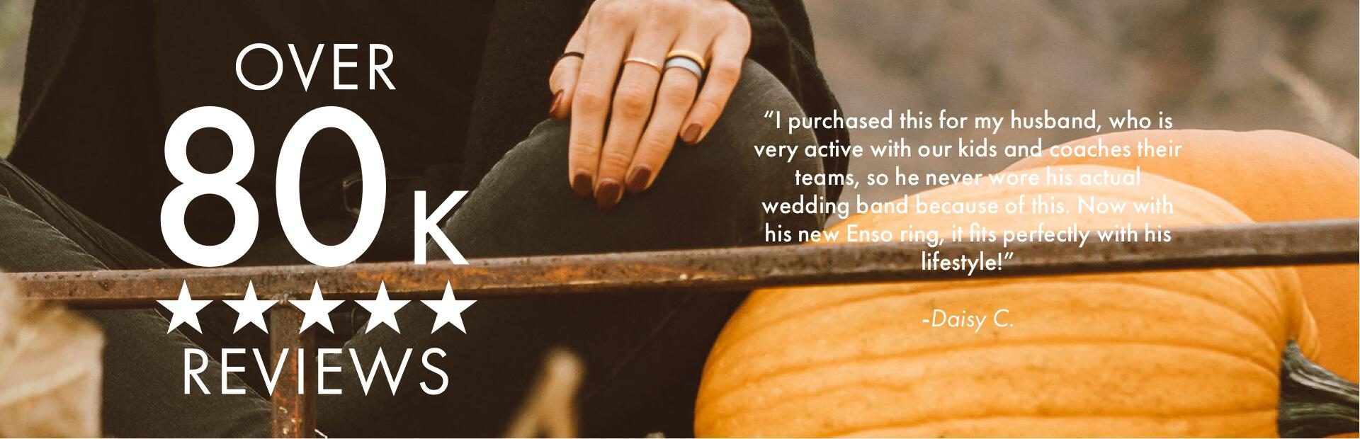 Inked Rings | Halloween | Enso Rings has over 80,000 positive reviews!