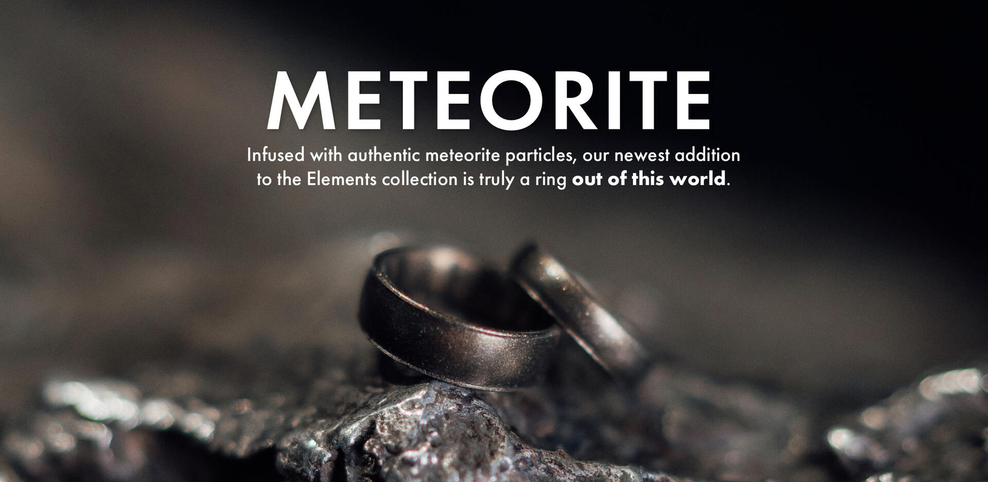 All new Meteorite Elements Silicone Rings