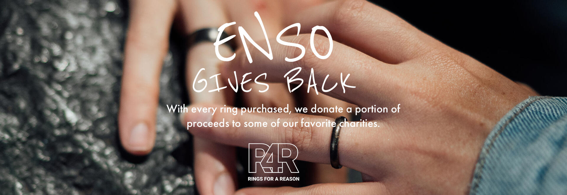 Elements Rings | Meteorite | Enso Rings Gives Gack - Rings for a Reason