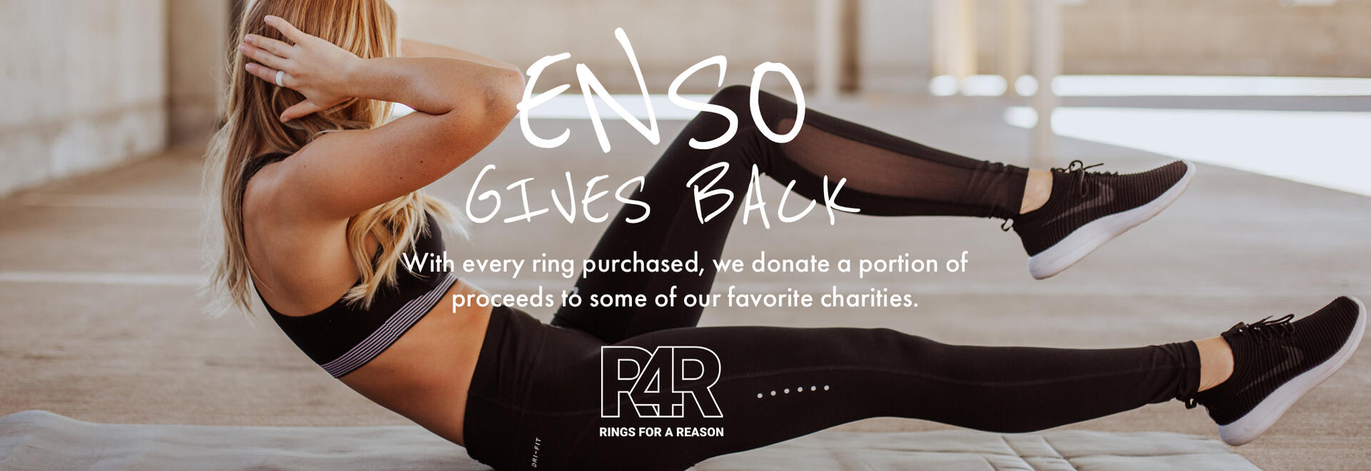 Enso gives back | With every ring purchase, we donate a portion of the proceeds to some of our favorite charities.