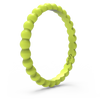Beaded Stackable Silicone Ring Lightning