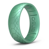 Etched Classic Silicone Ring Medusa Snake
