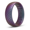 Etched Classic Silicone Ring Mermaid Scale