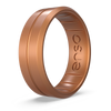 Classic Contour Silicone Ring Copper