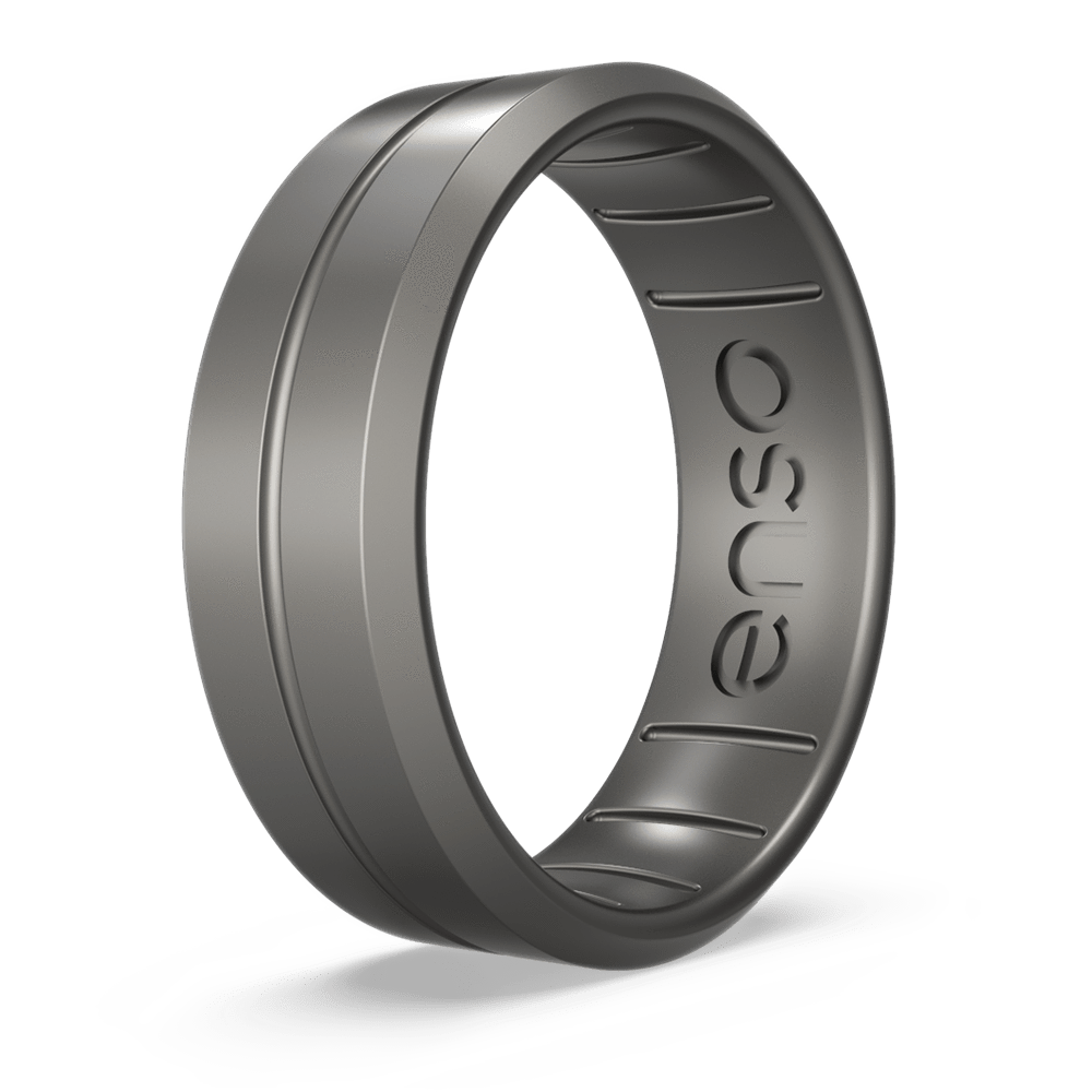 Enso Rings Halo Legends Contour Silicone Ring Handmade in The USA The Premium Fashion Forward Silicone Ring Lifetime Quality Promise