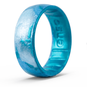 Handcrafted Classic Silicone Ring - Deep Sea