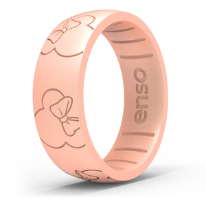 Disney Silicone Ring - Minnie All Around Ears - Rose Gold