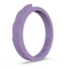 Feather Stackable Silicone Ring Lilac