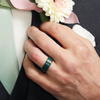 Rise BC Silicone Ring Forest Green Hover