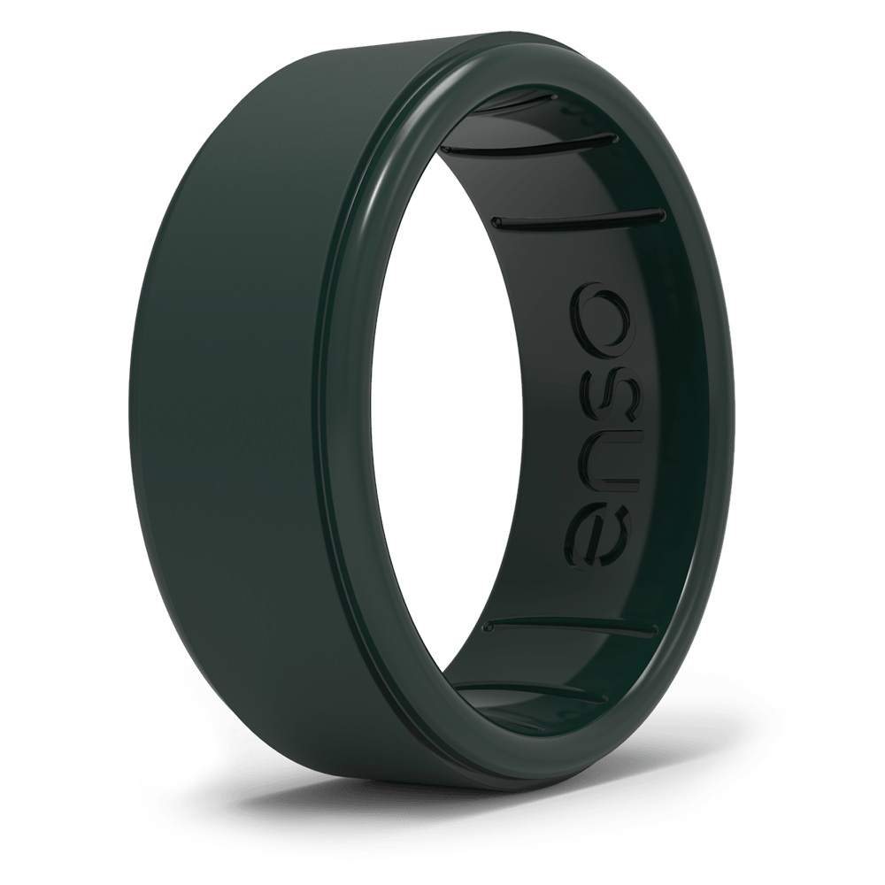Rise BC Silicone Ring Forest Green