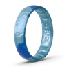 Handcrafted Thin Silicone Ring - Horizon