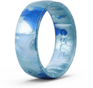 Handcrafted Classic Silicone Ring - Horizon