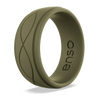 Men's Infinity Silicone Ring Pine