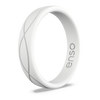 Women's Infinity Silicone Ring White