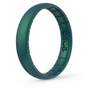 Legends Classic Thin Silicone Ring Dragon