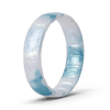 Handcrafted Thin Silicone Ring - Ocean Mist