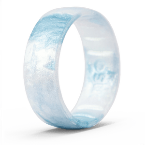 Handcrafted Classic Silicone Ring - Ocean Mist