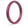 Birthstone Classic Halo Silicone Ring Pink Tourmaline