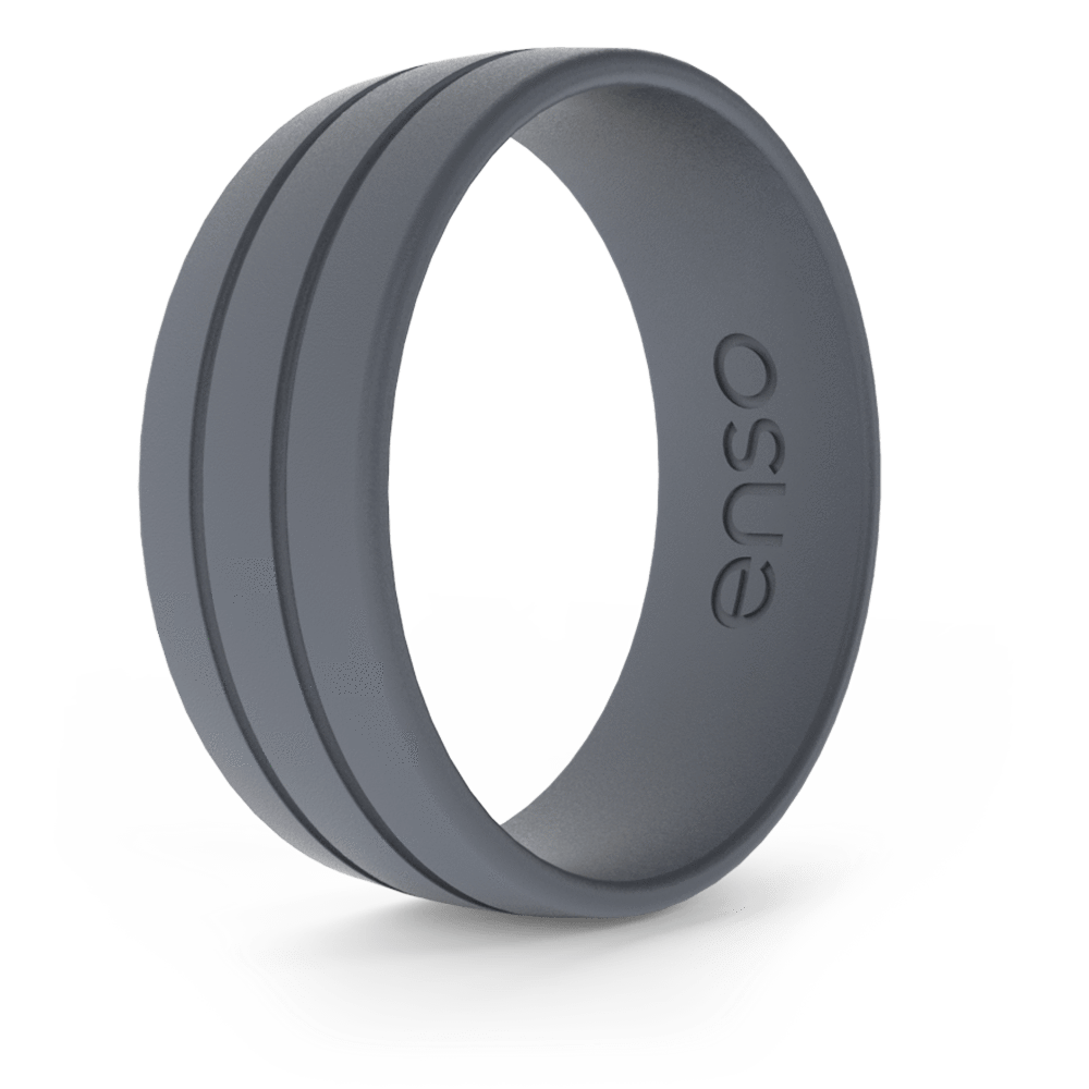 Ultralite Silicone Ring Slate