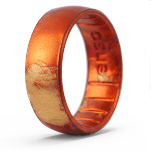 Handcrafted Classic Silicone Ring - Sunburst