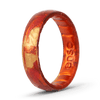 Handcrafted Thin Silicone Ring - Sunburst