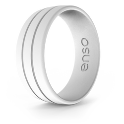 Ultralite Silicone Ring White Default