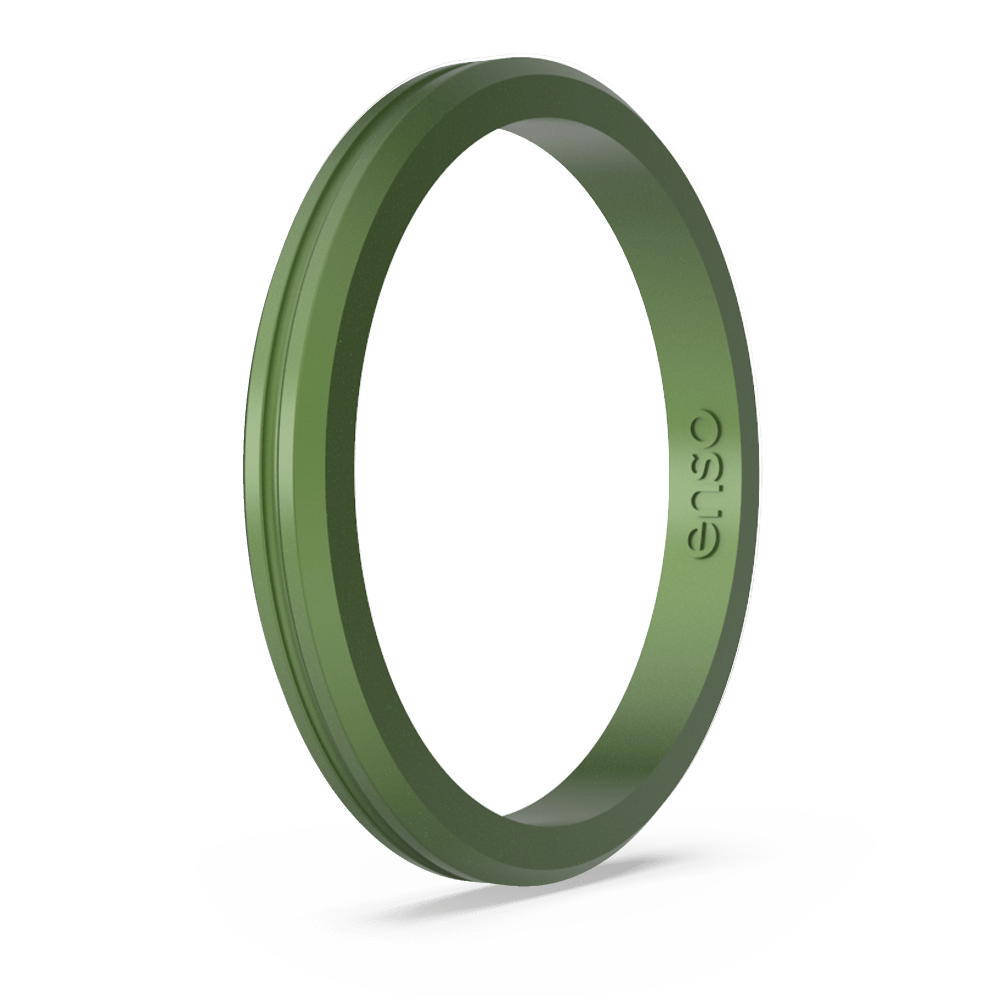 Legends Contour Halo Silicone Ring - Loch Ness