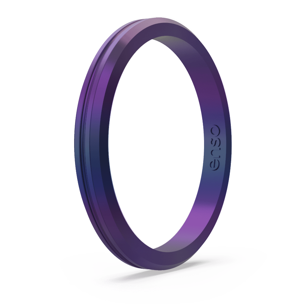 Legends Contour Halo Silicone Ring - Mermaid