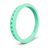 Column Stackable Silicone Ring Mint Green