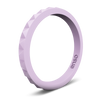 Pyramid Stackable Silicone Ring Lavender