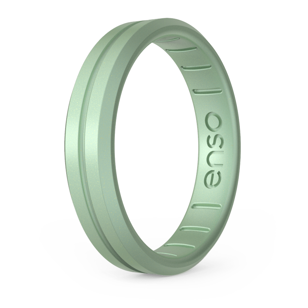 Legends Contour Thin Silicone Ring - Medusa