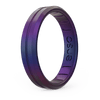 Legends Contour Thin Silicone Ring - Mermaid