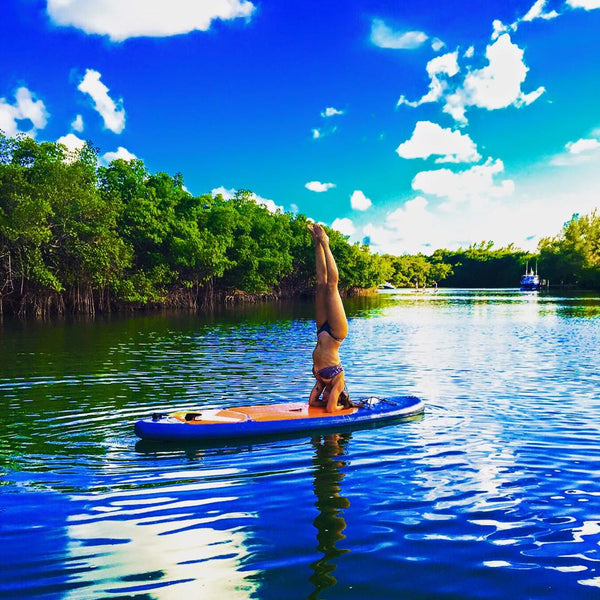SUP Yoga Class with Victoria and Claudia- June 6th Saturday