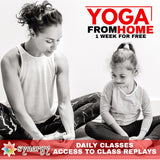 One Free week of Online Yoga!