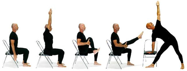 Chair Yoga Workshop : SATURDAY, MARCH 6, 2021 AT 9 AM EST – 11:30 AM EST
