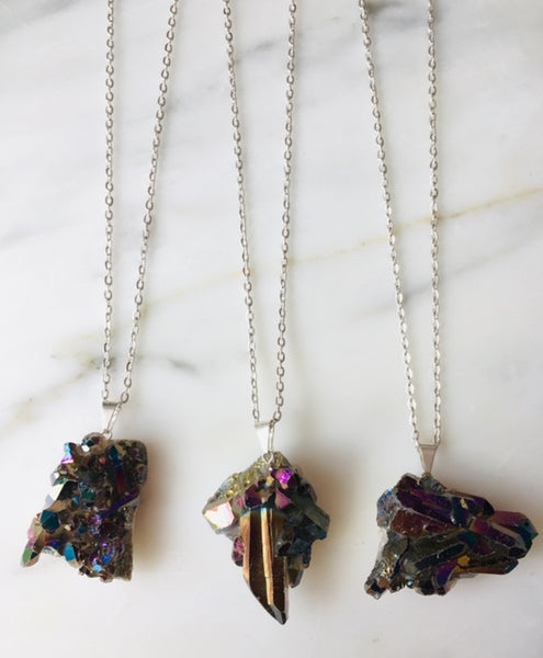 Protect your energy with Natural Stones Necklaces