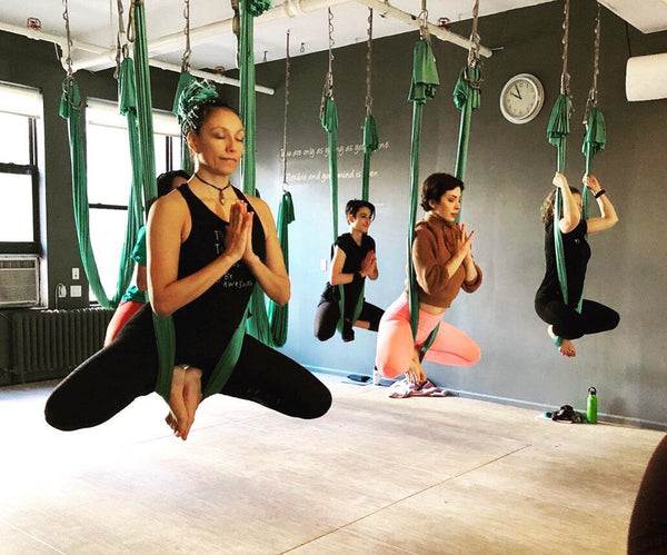 In Person Aerial Yoga Class - Wednesday 11:30 am