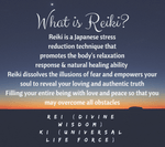 Reiki Certification Level I & II-  September 5th-6th