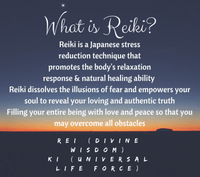 Reiki Certification Level I & II  :: January 26-27th 2019, 9-5p