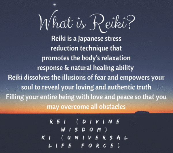 Reiki Certification Level I & II-  January 3-4