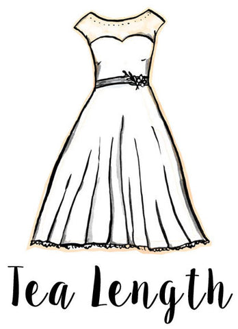 tea-length-silhouette