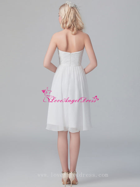 pleat-sweetheart-chiffon-little-white-dresses