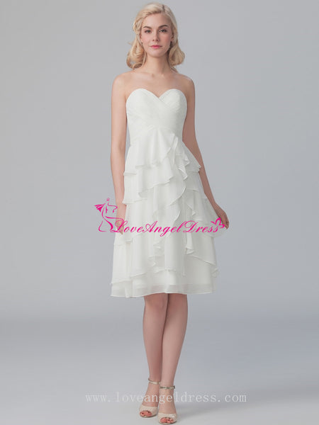 knee-length-bridesmaid-dress