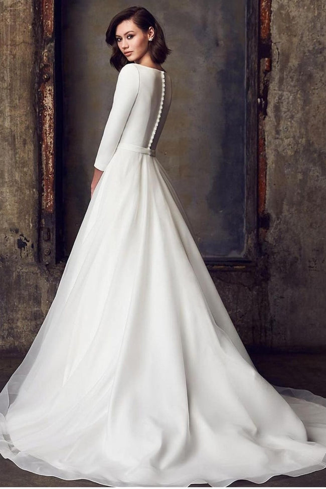 3-4-sleeves-modest-wedding-dress-for-bride-2021-1