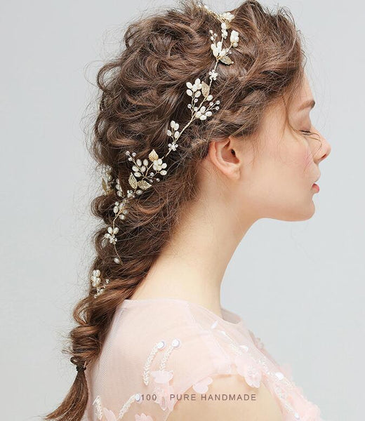 Fashion Ribbon Hairpin Rhinestone Crystal Tiara Wedding Bridesmaid Hair Accessories