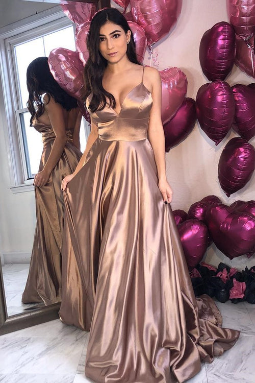 a-line-elastic-satin-prom-dress-with-spaghetti-straps